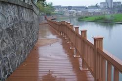 优质低价塑木栏杆
