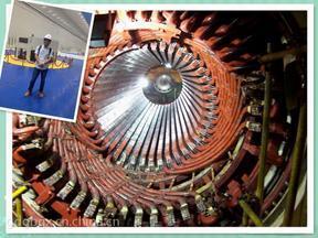 电厂重型定子绕组干燥清洁去污 蒸汽轮机干冰清洗技术