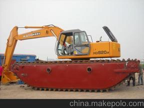 小松215水陆挖掘机出租改装