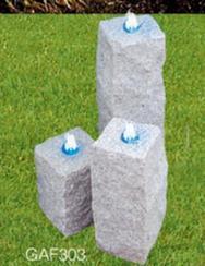 方柱形流水石GAF303