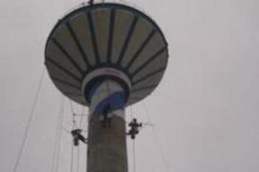 水塔刷涂料防腐