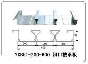 天津宝骏闭口楼承板YXB48-200-600低价促销