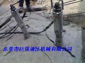 石材矿山采矿用液压劈山机更好用