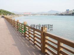 仿木,仿木栏杆,河道护栏,隔离护栏,水利工程,河道整治