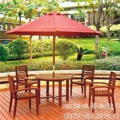 南阳鸿景木业防腐木桌椅