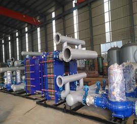 智能板式换热机组   济南张夏供水设备厂