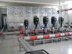 高位玻璃钢消防水箱北京麒麟公司