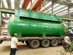 2t农村生活污水处理工艺 农村MBR一体化污水处理设备