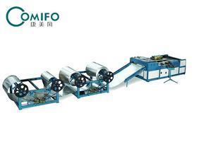 【康美风】升级版风管生产线三线/超级三线/风管生产线/风管设备