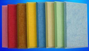 聚酯纤维吸音板,阻燃聚酯纤维吸音板