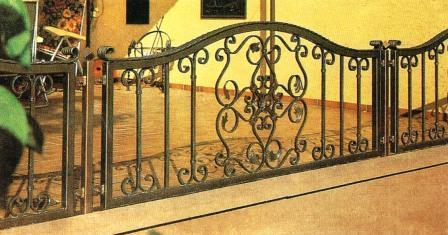 围墙、铁艺、铁艺栏杆、护栏、围栏