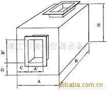 供应JY-2型消声静压箱
