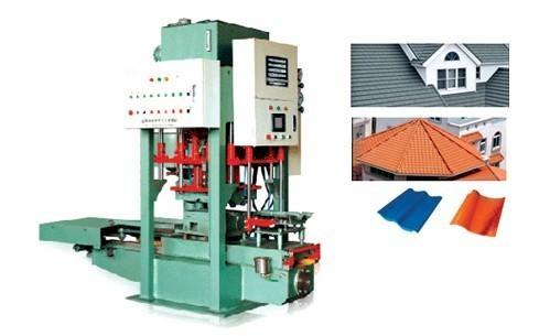 RC180D数控模压式水泥彩瓦成型机