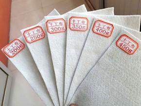 长丝土工布 大化国标土工布 建筑环保绿色防尘布