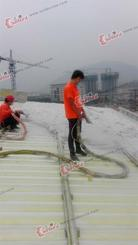 AAT保温体育中心屋面|内墙保温吸声处理