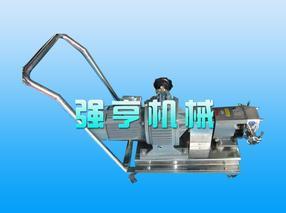 强亨移动式不锈钢转子泵自吸能力强使用寿命长