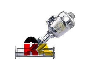 进口快装式卫生级气动角座阀
