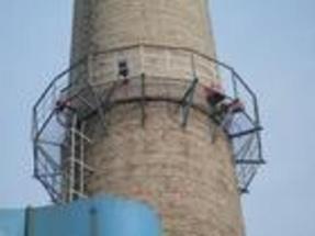 黄石烟囱安装平台