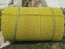 供应乱丝排水土工席垫