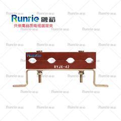 预分支电缆固定夹,防涡流电缆固定夹,四孔电缆固定夹