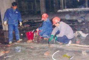 地下泵房堵漏