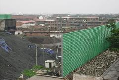 直销定做防风抑尘网,挡风抑尘板,挡风墙