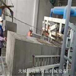 水泥基匀质保温板设备整体生产流程
