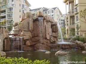 假山喷泉水景设计施工