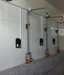 酒店浴室水控机,学校用水控机,工厂用水控机,工地用节水控制器