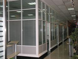 北京铝合金玻璃隔断