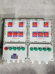 搅拌机铝合金防爆动力配电箱BXD51