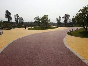 8203;宁波彩色透水混凝土 宁波艺术压花地坪设计