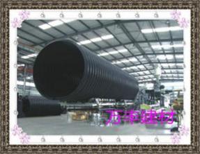 四川成都钢带增强聚乙烯HDPE螺旋波纹管