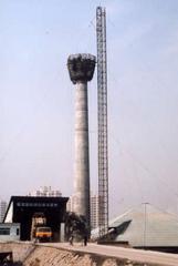 70米水泥砼烟囱新建