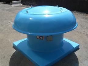 DWT-I屋顶轴流风机 玻璃钢屋顶排风机防爆  屋顶排烟风机