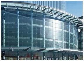 玻璃幕墙 玻璃幕墙施工现场平面布置说明