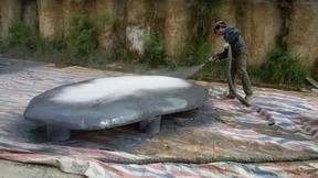 泡沫雕塑防水耐磨涂层喷涂聚脲涂料