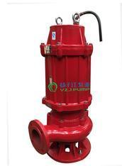 WQR高��100℃不�P�耐腐�g304或316��水排污泵