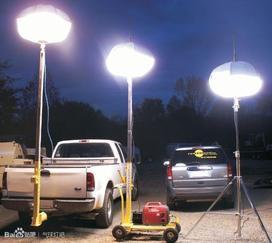 照明车的价格大同矿山野外作业照明设备浩鸿移动式照明灯