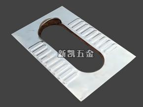 简单款旱厕蹲便器 面板 厕改专用蹲便器