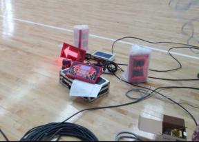 篮球比赛进攻指示器