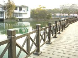 仿木栏杆,仿木护栏,河道栏杆