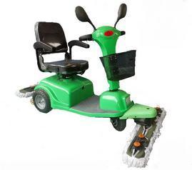 尘推车环保节能电动驾驶型尘推车