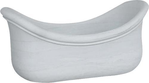 白色大理石浴缸MVS005
