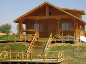 轻型木结构木屋