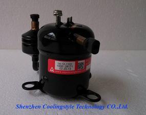 超薄型高端精密机柜空调用直流变频压缩机24V
