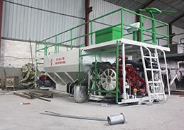 喷播机的绿化技术