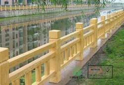 仿木,仿木护栏,仿木栏杆,绿化护栏