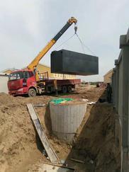 呼和浩特地埋式污水处理