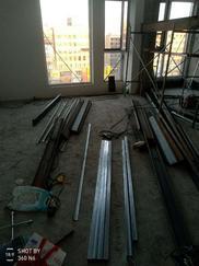 太原大学城钢结构隔层的做法
